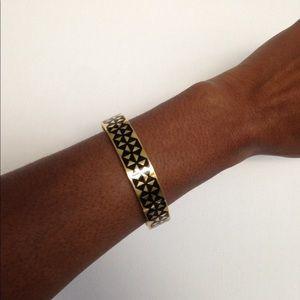 Ted Baker Cloelia Geo pattern enamel bracelet